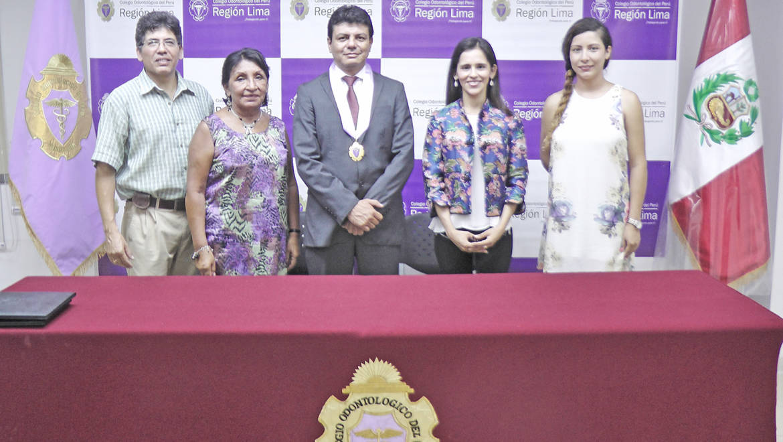 EDUVIDA y el Colegio Odontológico Región Lima firman convenio de cooperación
