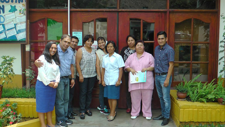 EDUVIDA y Área de Promoción de la Salud – DISA IV LE realizan reunión de trabajo