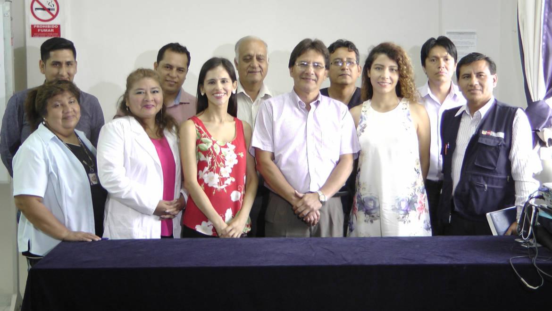 EDUVIDA expone logros 2016 para la Dirección de Salud IV LE