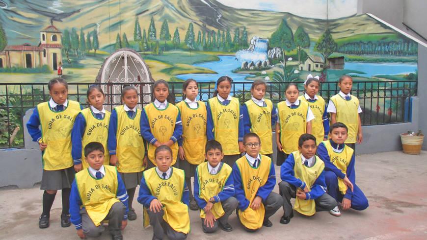 Niños Guías 2017 juramentan junto a las brigadas escolares