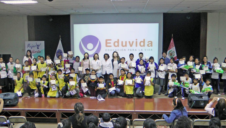 """EDUVIDA realiza el """"18 Encuentro Interdistrital de Niños Guías de Salud"""""""