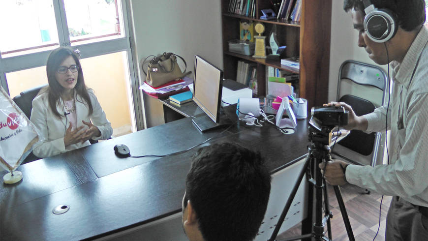 Revista Tinta Verde especializada en responsabilidad social realiza entrevista a directora de EDUVIDA