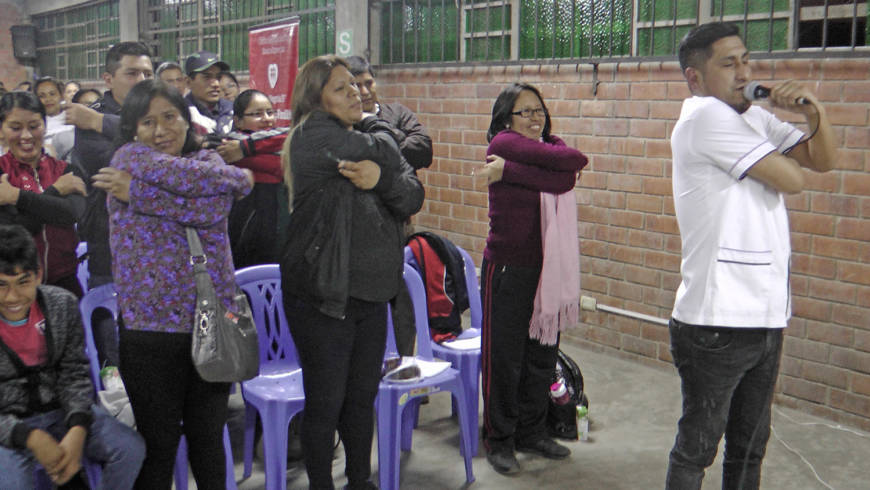EDUVIDA brinda capacitación a padres de familia de Huáscar en San Juan de Lurigancho