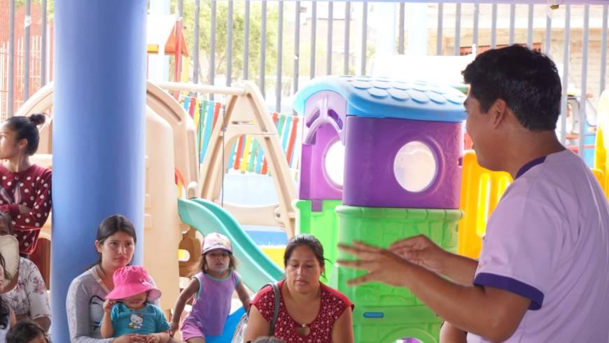 EDUVIDA brindó taller de padres en el I.E.I Gotitas de Amor