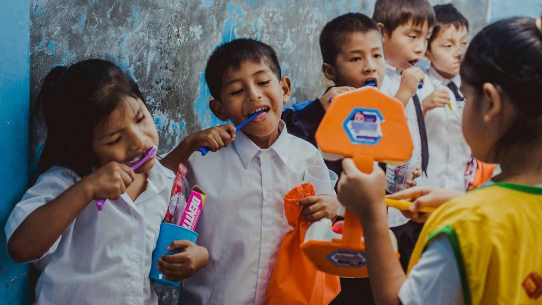 """Los """"Niños Guías de la Salud"""" líderes que fomentan hábitos de higiene bucal y buen trato"""