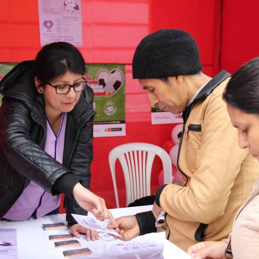"""EDUVIDA participó en la Feria Informativa y Campaña de Salud """"Un corazón sin tabaco es un corazón ganador"""", por el """"Día Mundial Sin Tabaco"""""""