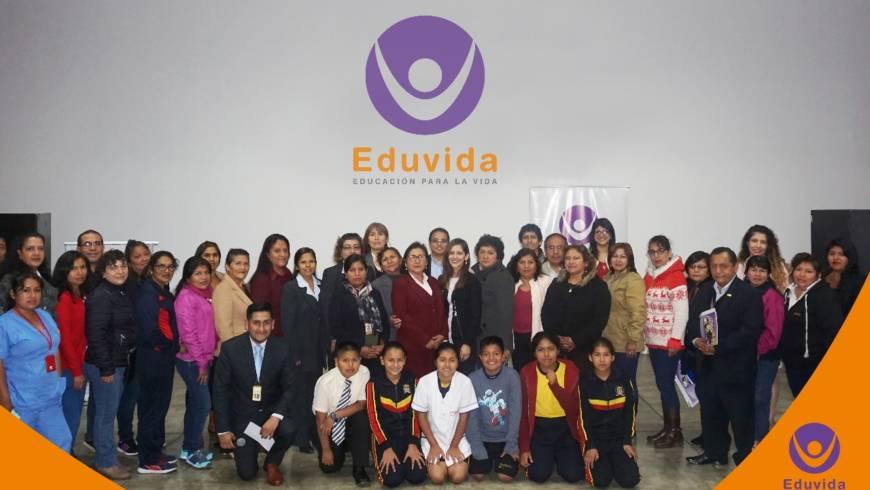 """Se realizó el """"Taller Distrital EDUVIDA"""" dirigido a Docentes, Directores y Subdirectores  de escuelas públicas del distrito de San Juan de Lurigancho"""